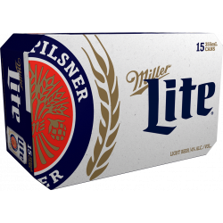 Miller Lite - 15 Cans